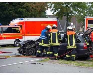 Tödlicher Verkehrsunfall Nettetal-Leuth