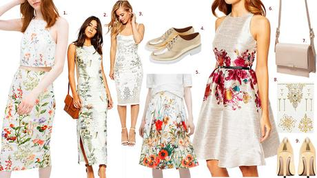SHOPPING TIPPS : ALLOVER FLOWERPRINTS