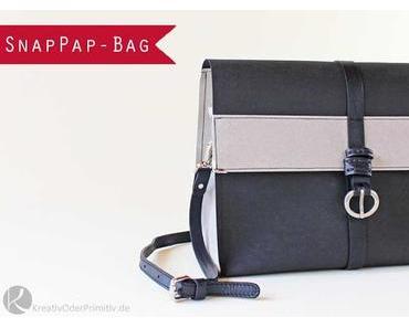 Elegante Handtasche aus SnapPap