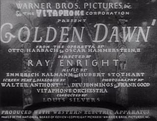 Forgotten Films: Golden Dawn