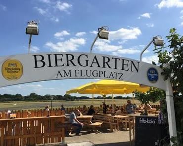 Biergarten am Flugplatz Loemühle in Marl