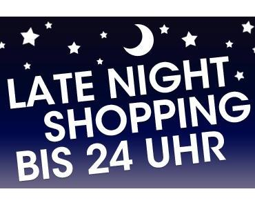 In eigener Sache .-) Heute LATE NIGHT SHOPPING bei Caros Zuckerzauber