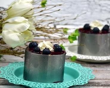 No Bake Panna Cotta Torte