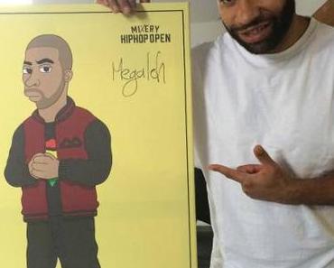 HipHop-Open-Künstler lassen sich für Viva von Agua porträtieren