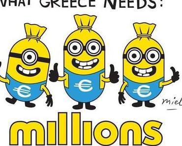 Minions für Griechenland