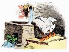 Die Beiden Enten Und Der Frosch Gedicht Von Wilhelm Busch
