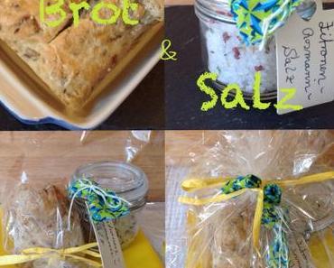 Ein Geschenk zum Einzug: Brot und Salz – oder – Gewürzsalze selbstgemacht