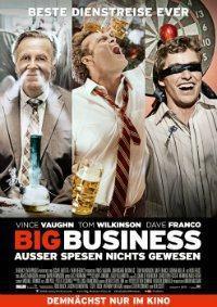 BIG BUSINESS mit Vince Vaughn, Tom Wilkinson & Dave Franco verpasst die Gelegenheit eine gute Komödie zu sein