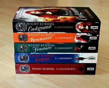 """[Reihenvorstellung] C. J. Daugherty – """"Night School""""-Series"""