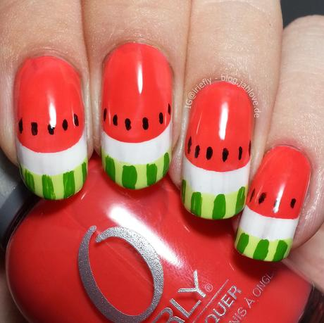 [Nails] Watermelon-Nails mit Orly