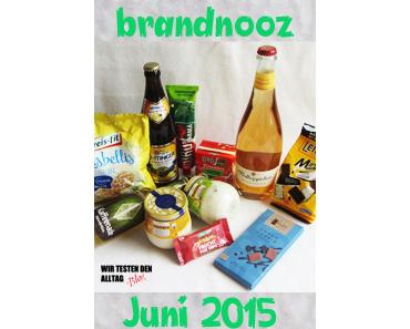 [BRANDNOOZ] Juni 2015 Box