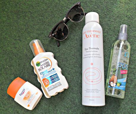 A butterfly [Blogparade] Top 3 Must-haves for hot summer days