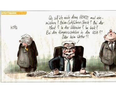 Bundespastor Joachim Gauck über Flüchtlinge und Nächstenliebe