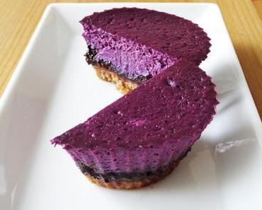 Blaubeer-Schoko-Cheesecake Muffins