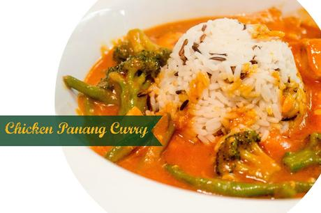 Mein Lieblingsessen: #1 Chicken Panang Curry