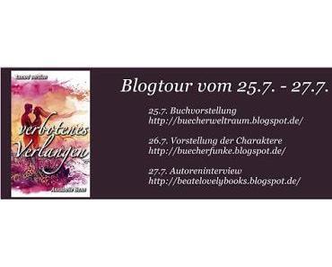 """[Blogtour] Blogtour """"Verbotenes Verlangen"""" von Annabelle Benn - Autoreninterview"""