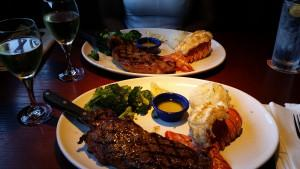 "Steak & Lobster im ""Red Lobster"""