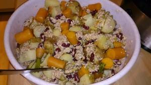 Veganes Hundefutter mit Karotten und Kartoffeln