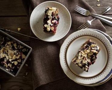 Marzipan-Beeren-Kuchen