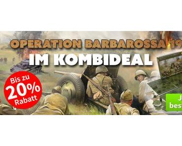 Spiele-Offensive Aktion - Operation Barbarossa 1941 Kombideal