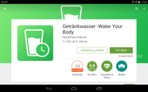 Trink Wasser – Water your Body im Test