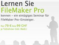 FileMaker-Seminare für den optimalen Einstieg im September.
