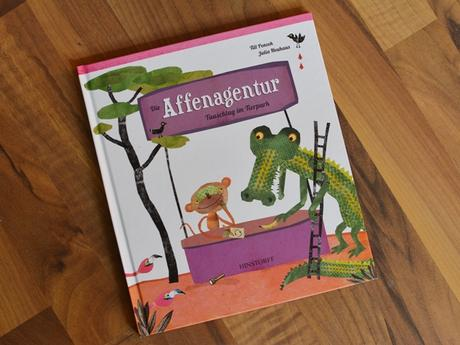 "{REZENSION} ""Die Affenagentur"""