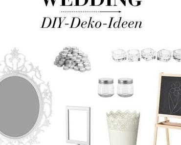 DIY – Ideen & Inspirationen für die Hochzeit von Ikea