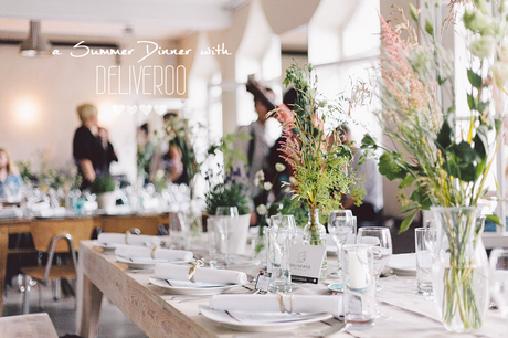 FOOD | A Summer Dinner with Deliveroo Berlin