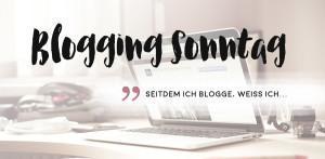 Blogging Sonntag – Thema: Seitdem ich blogge, weiß ich