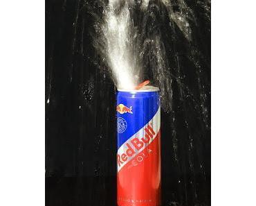 """Oh Gott: 28 Dosen Red Bull pro Tag! Frau fast """"abgekratzt""""! Glauben Sie nicht?"""