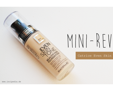 Mini-Review | Catrice Even Skin Tone Foundation
