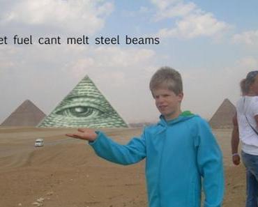 Hey Jungs. Könntet ihr bitte die Pyramide auf meine Hand photoshoppen?