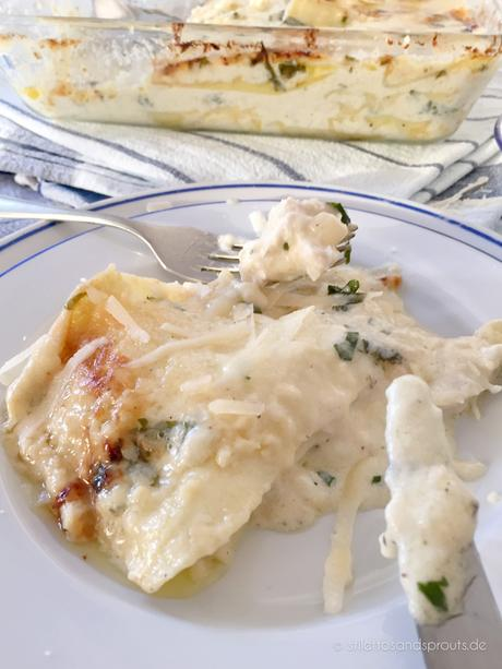 White Chicken Lasagna