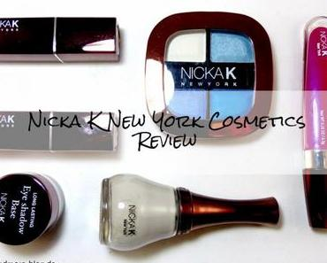 Nicka K New York Cosmetics – Review