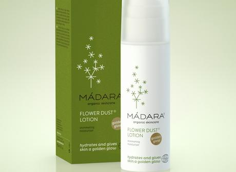 MADARA Flower Dust Lotion mit Golden Glow Review