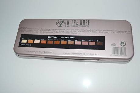 {Review}: W7 In The Buff Natural Nudes Palette