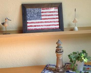 Blau, Weiß, Rot – oder – Ups, I dit it again: DIY mit Stars and Stripes