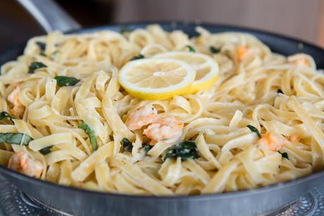 Food: One Pan Summer Pasta with shrimps
