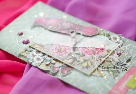 Gift Envelope - Birds of Paradise Collection