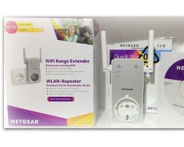 Netgear WLAN Repeater AC750 Range Extender EX 3800 im Produkttest