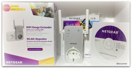 netgear wlan repeater ac750 range extender ex 3800 im produkttest. Black Bedroom Furniture Sets. Home Design Ideas