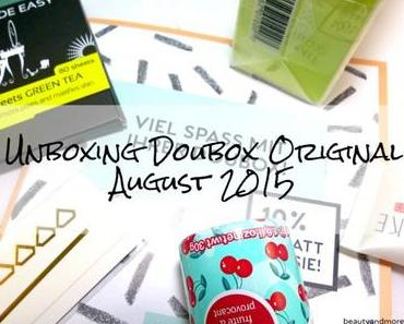 Doubox Original August 2015 – Unboxing
