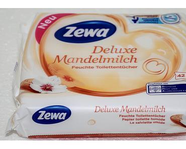 Zewa Deluxe Mandelmilch Feuchte Toilettentücher