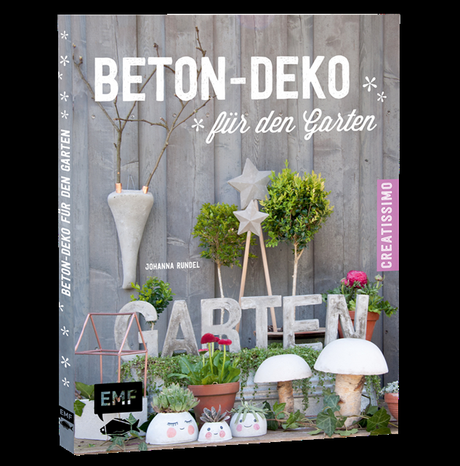 deko donnerstag mit beton deko f r den garten. Black Bedroom Furniture Sets. Home Design Ideas