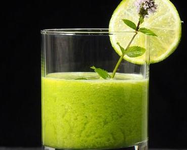 Einfach eine gute Idee: Grüner Smoothie mit Granny Smith und Thai-Basilikum