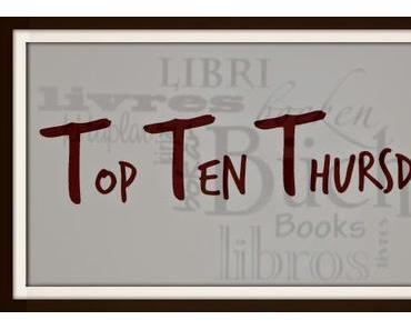 [TTT] 10 Bücher, mit denen du ein besonderes Erlebnis verbindest