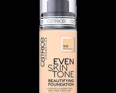 catrice Even Skin Tone Beautifying Foundation #010 Even Vanilla