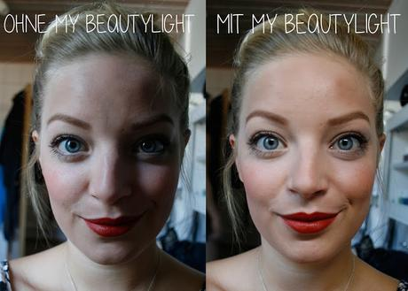 MY BEAUTY LIGHT TO GO - klein aber oho!
