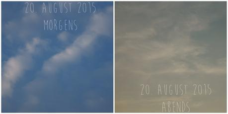 Blog & Fotografie by it's me! - Himmel am 20. August 2015
